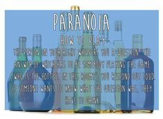 Paranoia | 15 Simple Drinking Games Every Fresher Should Know