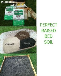 Perfect Raised Bed Soil {Raised Bed Gardening Part 2} Putting Together the Soil