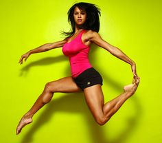 Misty Copeland. Curvy black ballerina and first black female soloist for the American Ballet Theatre.  Also, awesome.