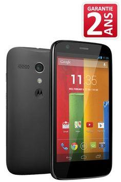 Mobile nu Motorola MOTO G NOIR prix promo Darty 169.90 € TTC