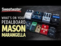New video Mason Marangella's Pedalboard: What's On Your Pedalboard? @SweetwaterSound on @YouTube