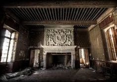 From inside the abandoned Curwen Castle (also known as Workington Hall) is on the west coast of Cumbria, England, Britain. (by ~fibreciment on deviantART) Abandoned Buildings, Abandoned Castles, Abandoned Mansions, Old Buildings, Abandoned Places, This Ole House, Old Houses, Haunted Houses, Architecture Details