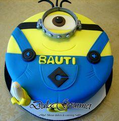 Minion cake for Bautista