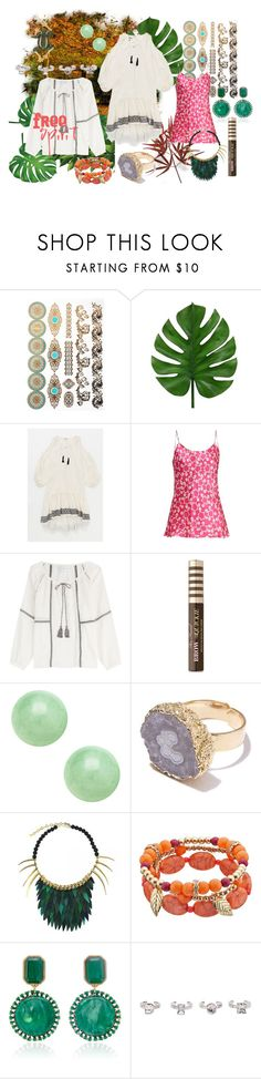 """Free spirit"" by loeitt on Polyvore featuring Lemlem, Duro Olowu, Velvet, Too Faced Cosmetics, Ana Accessories, Ayaka Nishi, Lulu Frost, Christian Dior and Effy Jewelry"
