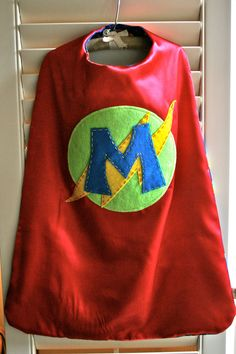 Red Super Hero Cape ...perfect...Toby will just go nuts for this!