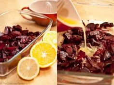 Clean Eating Citrus Marinated Beets