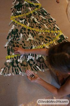 Deco de Noel - Fabriquer par les enfants - Ciloubidouille