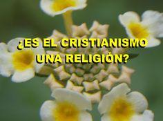 ¿ES EL CRISTIANISMO UNA RELIGIÓN?