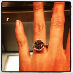 He can put this ring on it... #Tiffany