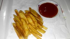 How To Make Crispy French Fries Recipe In Bangle French Fries At Home, Making French Fries, Crispy French Fries, French Fries Recipe, Sliced Potatoes, Recipe Please, Garlic Salt, Large Bowl, Carrots