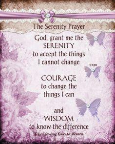 47 Best The Serenity Prayer Images Serenity Prayer