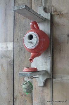 Home Sweet Home, Birdhouse Teapot!