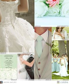 #Mint Green Wedding ... Wedding ideas for brides & bridesmaids, grooms & groomsmen, parents & planners ... https://itunes.apple.com/us/app/the-gold-wedding-planner/id498112599?ls=1=8 … plus how to organise an entire wedding, without overspending ♥ The Gold Wedding Planner iPhone App ♥