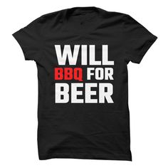 Will BBQ For Beer T Shirts, Hoodies. Check price ==► https://www.sunfrog.com/Drinking/Will-BBQ-For-Beer.html?41382