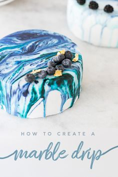 How to Make a Marbelized Cake > Marble Drip Cake Recipe > Sugar and Charm Drip Cake Recipes, Frosting Recipes, Dessert Recipes, Cake Decorating Tools, Cake Decorating Techniques, Decorating Ideas, Food Cakes, Cupcake Cakes, Cupcakes