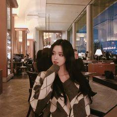 Cute Korean Fashion, Korean Outfit Street Styles, Korean Fashion Dress, Ulzzang Fashion, Pretty Korean Girls, Cute Korean Girl, Pretty Asian, Asian Woman, Asian Girl