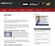 "Weight Loss niche website with a new design and with the best affiliates offers.  This website comes together with a fully editable sales funnel (the ""Start Here"" page). Affiliate offers are introduced only after something of value is given to the readers. This is known as pre-selling; and doing this – and just this- is proven to increase your conversions by at least 300%."
