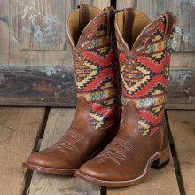 Boulet Navajo Print Boot