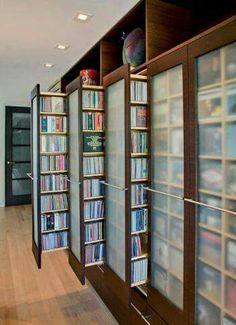 Unique Stylish Dvd Storage Ideas Home Decorating Trends Might Also Be Good For Books If You Have As Many I Do Idea