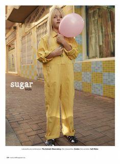 Lola from Sugar Kids for Milk mag by Esperanza Moya.