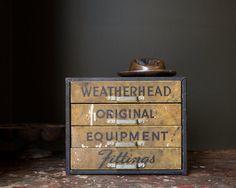 Vintage Industrial 1940's Weatherhead Metal Pull by MDQualityGoods
