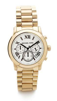 Vintage Glam Gold Watch