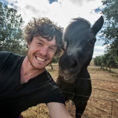 "Getting Cozy with @daxon's Selfie Menagerie    To see more of Allan's animal selfies, follow @daxon on Instagram.     It all started with one baby camel. Three years later, globe-trotting adventure photographer Allan Dixon (@daxon) continues to take selfies with wildlife, sometimes relaxing with them for hours before a photo is taken. ""Patience is key in getting so close,"" Allan explains. ""I think they can sense how I feel and know I have no desire to harm them."" Allan grew up in Ireland…"