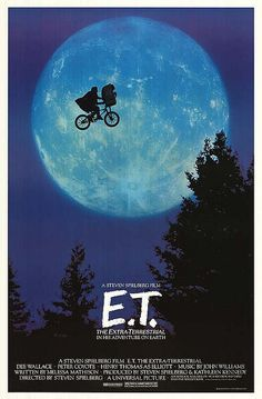 E.T. The Extra Terrestrial is a big part of my movie memories. I'm not sure if my grown children have seen it though, LOL. #et