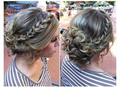 Possible hairstyle for winter formal;)