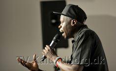 Rapperen Al Agami. Foto: Jens Nielsen