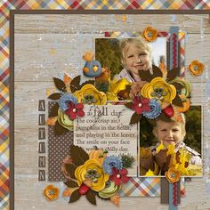 Autumnal Templates - Southern Serenity Designs