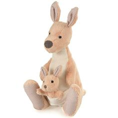 Alice - Musical Soft Toy Kangaroo by Egmont Toys - A Whole Lot of Love