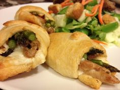 Sewing Barefoot: chicken asparagus rolls