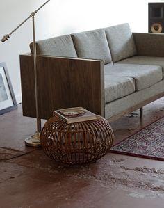 mixed material sofa #modern