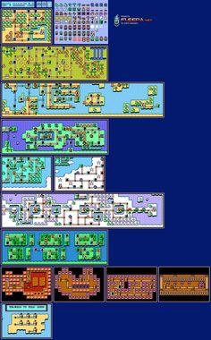 Super Mario Bros 3 - World Maps - perler bead ideas?