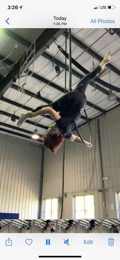 Lira, Aerial Hoop, Basketball Court, Aerial Dance