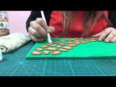 Diy crear bases para fofuchas, imitación ladrillo cemento - El Rincón de Noe - YouTube