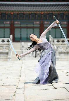 Mujer guerrera china #china #woman #belleza