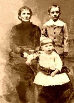Happier Days   Jesse James, mother and sister