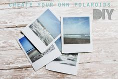 Sincerely, Kinsey: Create Your Own Polaroids | DIY