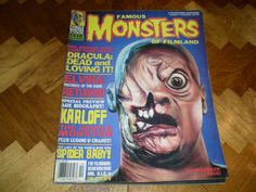 Famous Monsters of Filmland 210, Dracula, Elvira, Cyclops, Harrorween Issue, 1995, Dynacomm Magazine by HeroesRealm on Etsy