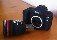 4GB Mini DSLR Camera USB Flash Drive Funny Memory Stick