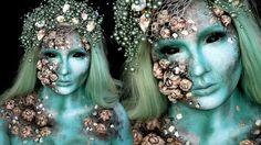 Meerjungfrau Kostüm Makeup Tutorial
