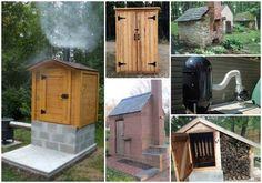 16 DIY Smokehouse Ideas | Instead of a smoker, build a smokehouse.