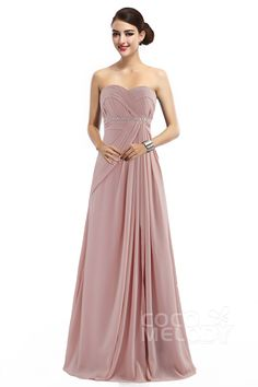 Latest+Sheath-Column+Sweetheart+Natural+Floor+Length+Chiffon+Blush+Sleeveless+Zipper+Bridesmaid+Dress+with+Pleating+COZF14022