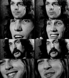 Pink Floyd from the Live at Pompeii movie.