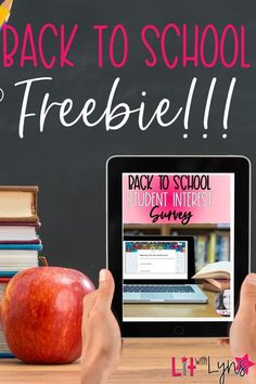It's the beginning of the school year, and I have the perfect resource! Sign up for my newsletter, and you will get to immediately download this digital student interest survey. Perfect for 5th, 6th, 7th, and 8th grade. The info students input on the Google Form will be saved for you to access all year long!