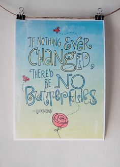 Quote by Unknown Author  GICLEE Mini Poster by Albee on Etsy, $20.00