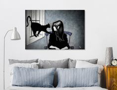 Discover «The Familiar», Exclusive Edition Canvas Print by Ken Grey Bear - From $59 - Curioos