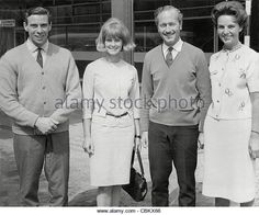 Jim Clark with Colin Chapman and others